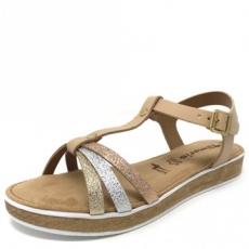 Sandale dama Tamaris 28605 bej Preturi