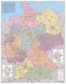Harta Germania Coduri Orase