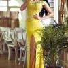 Rochie CrystalCharming Yellow