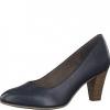 Pantofi dama din piele navy Tamaris