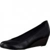 Pantofi dama Tamaris negri cu talpa ortopedica