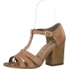 Sandale din piele dama Tamaris maro light
