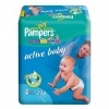 Scutece Pampers Active Baby, Nr. 4, 7 - 18 kg