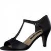 Sandale din piele dama Tamaris cu toc mediu