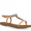 Sandale dama din piele Tamaris peach