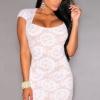 Rochie SunsetFlower White