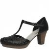 Pantofi dama din piele estoril Rieker