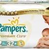 Scutece Pampers Premium Care, Nr. 2, 3 - 6 kg, 32 bucati