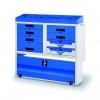 Mobiler metalic cu separatoare scule casetiere si valize pentru dotarea autovehicolelor Ticar 215