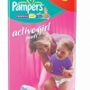 Scutece Pampers Active Girl, nr. 5, 12 - 18 kg, 48 bucati